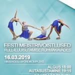 Rühmakavade Eesti MV juba sel laupäeval, 16. märtsil kell 18:00 Viimsi Kooli spordikompleksis!
